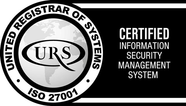 Comvergent ISO 27001 certified