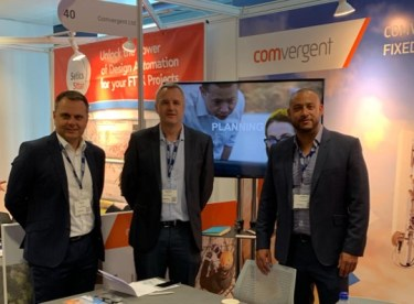 Comvergent team at Connected Britain 2019